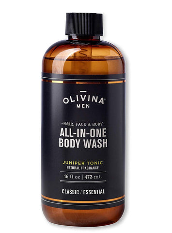 Olivina Men Hair, Face & Body All-in-One Wash (473ML)