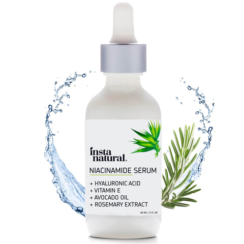 InstaNatural Niacinamide 5% arcszérum nagy (60ml) - Beautyshop.hu