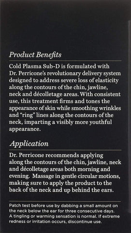 Perricone MD Cold Plasma Sub-D / Neck, 2 fl. oz.