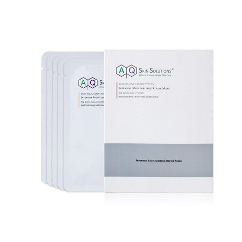 AQ Skin Solutions Intensive Moisturizing Repair Mask - Förpackning med 5