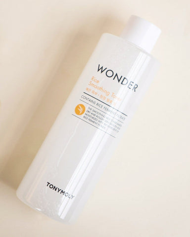 TONY MOLY Wonder Rice Smoothing Toner (500ml) - Beautyshop.ie