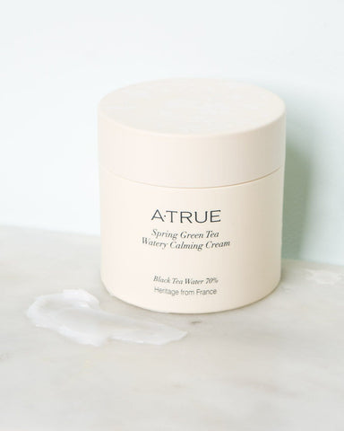 ATRUE Spring Green Tea Watery Calming Cream (80g) - Beautyshop.ie