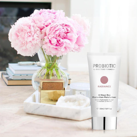 Lääkärit Formula Probiotics Radiance 12 Hour Day Protection kosteusvoide 50ml - Beautyshop.fi