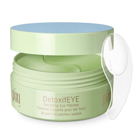 DetoxifEYE - Pixi Beauty (Depuffing Eye Patches) 60 lappar + spatel - Beautyshop.ie