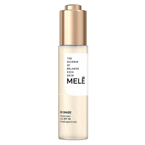 Mele No Shade Sunscreen Oil Broad Spectrum for Melanin Rich Skin - SPF 30 - 30ml - Beautyshop.ie