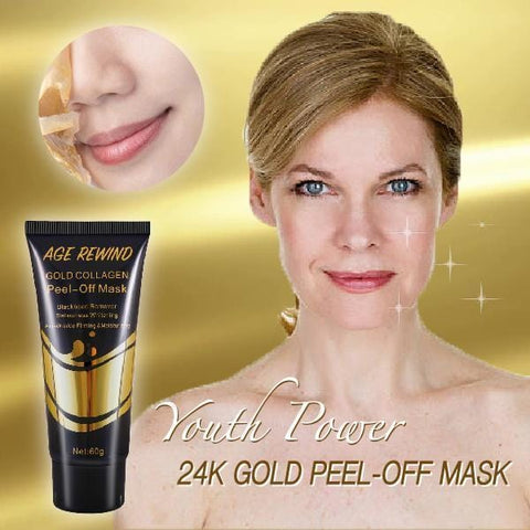 24K Gold Peel-Off Mask - Beautyshop.ie