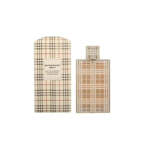 Burberry Brit Femmes Edt Spray 100 ml - Beautyshop.fr
