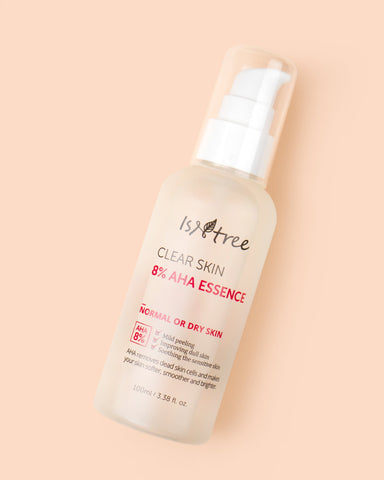 ISNTREE Clear Skin 8% AHA Essence - 100ml - Beautyshop.ie