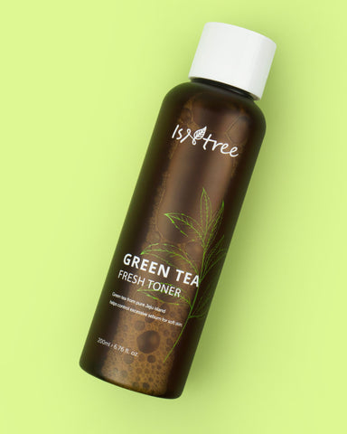 ISNTREE Green Tea Fresh Toner (200ml) - Beautyshop.es