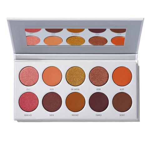 MORPHE X JACLYN HILL RING THE ALARM EYESHADOW PALETTE - Beautyshop.ie