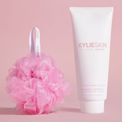 Kylie Skin Coconut Body Scrub + Loofah Bundle
