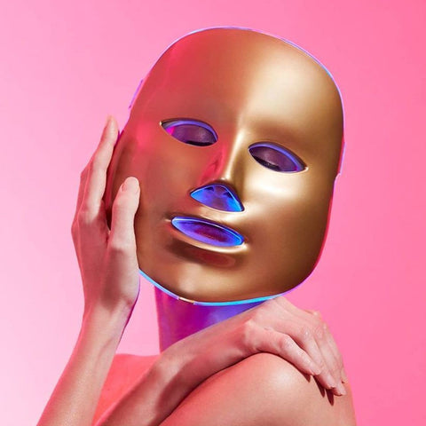 MZ Light Therapy Golden Treatment Mask - Beautyshop.se