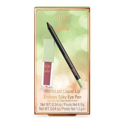 Pixi Beauty MatteLast Liquid Lip & Endless Silky Eye Pen - Beautyshop.se
