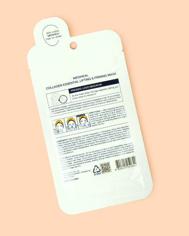 MEDIHEAL Kolagena Essential Lifting & Firming Sheet maska ​​- Beautyshop.ie