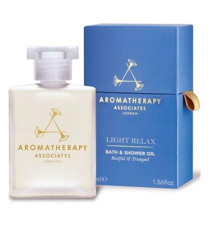 Aromatherapy Associates London Light Relax Bath and Shower Oil 55ml - Beautyshop.ie