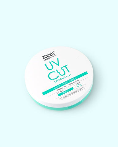 ACWELL UV Cut SPF 50 + PA ++++ Natural Sun Cushion - 25g - Beautyshop.ie