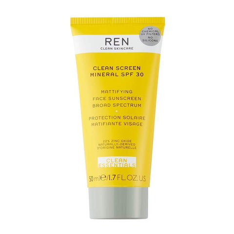 REN Clean Screen Минеральный SPF 30 (50 мл) - Beautyshop.ie