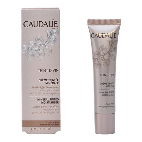 Hydrating Cream with Colour Teint Divin Caudalie - Beautyshop.ie