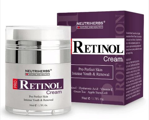 Neutriherbs 2.5% Retinol Moisturiser with Hyaluronic Acid 50ml