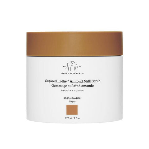 DRUNK ELEPHANT Sugared Koffie Almond Milk Scrub - 270ml - Beautyshop.ie