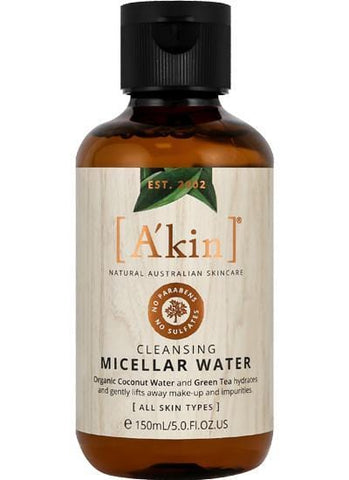 A'kin Cleansing Micellar Water - 150ml - Beautyshop.it