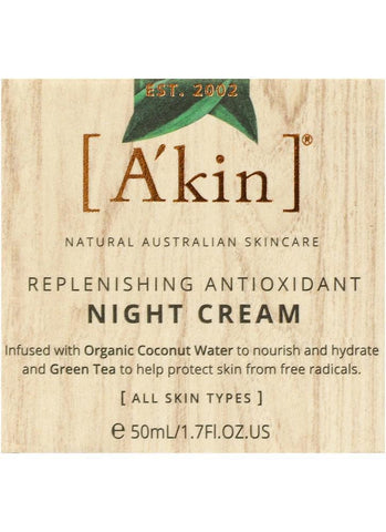 A'kin Replenishing Antioxidant Night Cream - 50ml