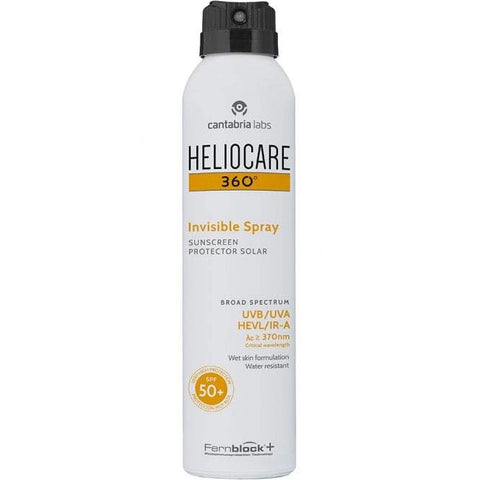 Heliocare 360 ​​° -ko spray ikusezina SPF50 + 200ml