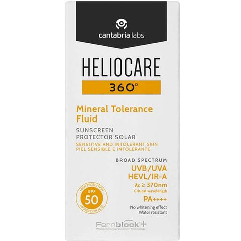 Heliocare 360 ​​° minerālvielu tolerances šķidrums SPF50 + 50ml