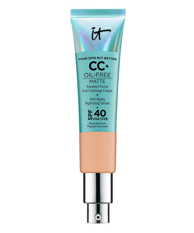 IT Cosmetics | Your Skin But Better CC+ Oil-Free Matte with SPF 40 - Beautyshop.ie