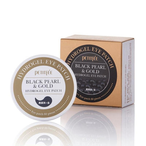 Black Pearl Gold Hydrogel Eye Mask Patch 60 st - Beautyshop.ie