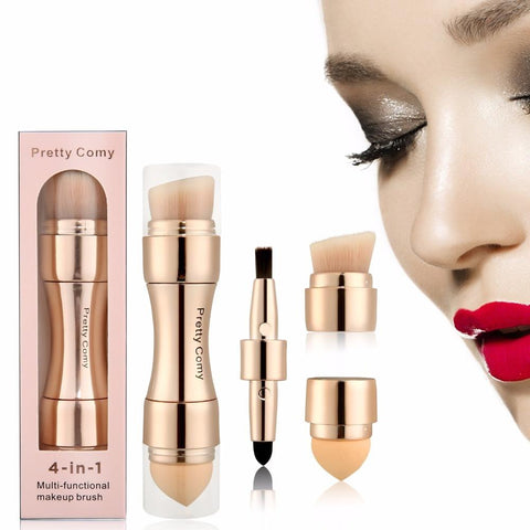 4 in 1 Professional Makeup Brushes - Beautyshop.ie