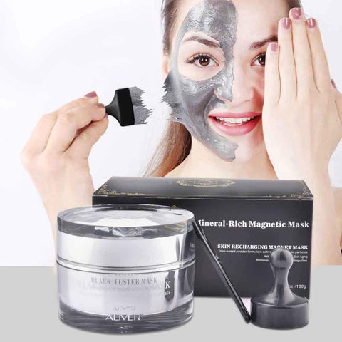 Magnetic Charcoal & Seaweed Mud Mask - Beautyshop.ie