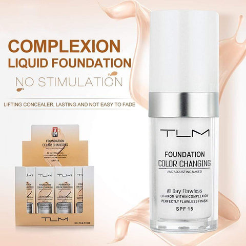 Fundación mágica que cambia de color (30ml) - Beautyshop.es