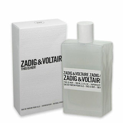 Zadig & Voltaire This is Her EDP 100ml - Beautyshop.ie