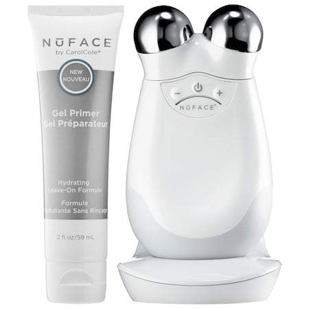 Trousse de tonification faciale NuFace Trinity - Beautyshop.fr