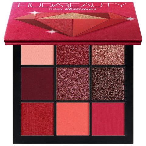 HUDA BEAUTY Obsessions Eyeshadow Ruby Palette