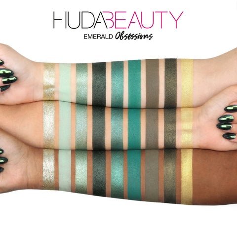 HUDA BEAUTY Obsessions Eyeshadow Emerald Palette