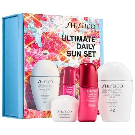SHISEIDO Ultimate Daily Sun Set