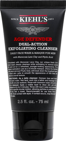 Kiehl's Age Defender Dual Action Exfoliating Cleanser - Beautyshop.se