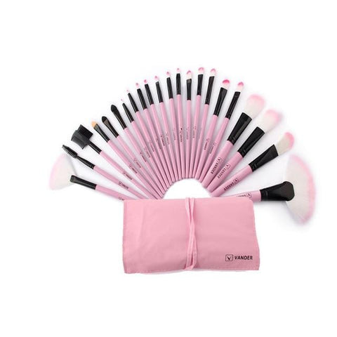 24 Pieces Set Makeup Brushes