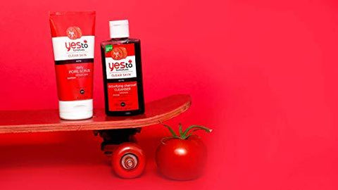 Exfoliante Diario Yes To Tomatoes Clear Skin para Poros - 113g