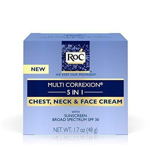 RoC Multi Correxion 5 i 1 Anti-Aging Chest, Neck and Face Cream med SPF 30 - Beautyshop.se