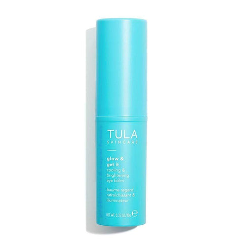 TULA Probiotic Skin Care Glow & Get It Cooling & Brightening Eye Balm - 10g - Beautyshop.ie