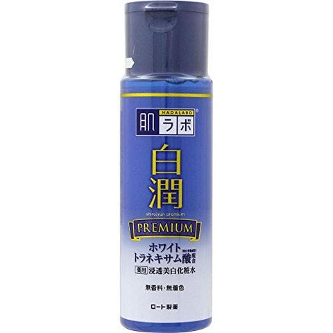 Rohto Hada Labo Shirojyun Premium Whitening Lotion 170ml - Beautyshop.ie