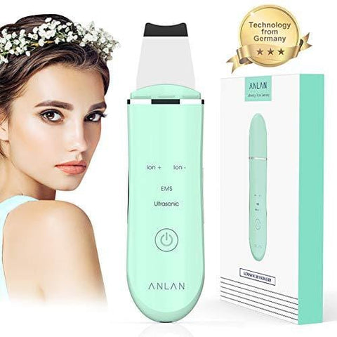 4 In 1 Electric Ultrasonic EMS Facial Skin Scrubber - Beautyshop.ie