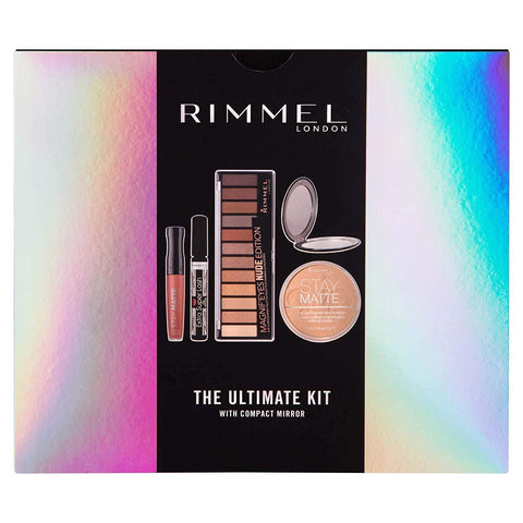 Rimmel London The Ultimate Kit Gift Set with Compact Mirror - Beautyshop.ie