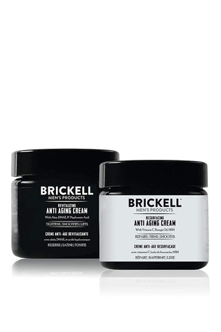 Brickell Men's Organic Day and Night Anti Ageing Cream