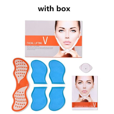 Electrotherapy Electronic Pulse V Line Slimming Face Lifting Massager - Beautyshop.ie