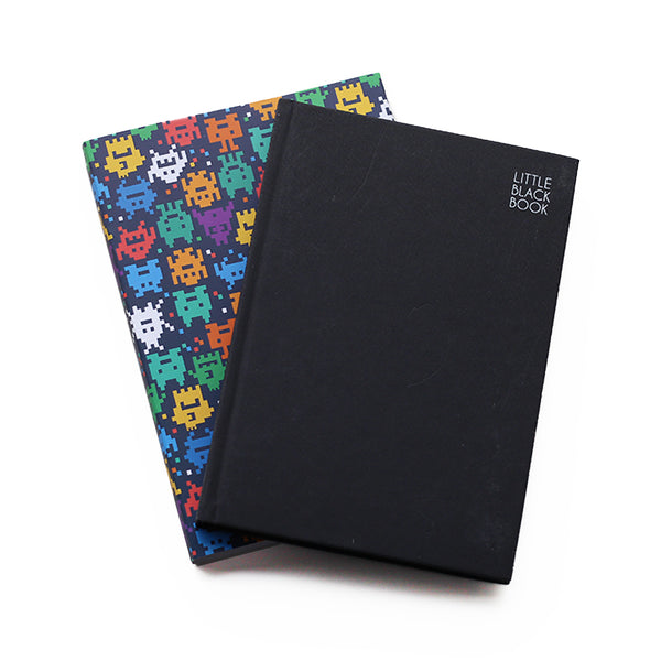 Space invaders Undated Planner
