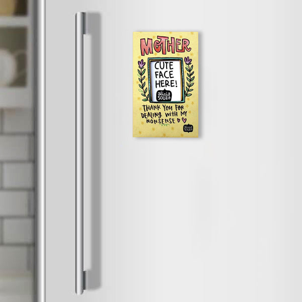 Mommy love frame-Refrigerator magnetic frame SMALL